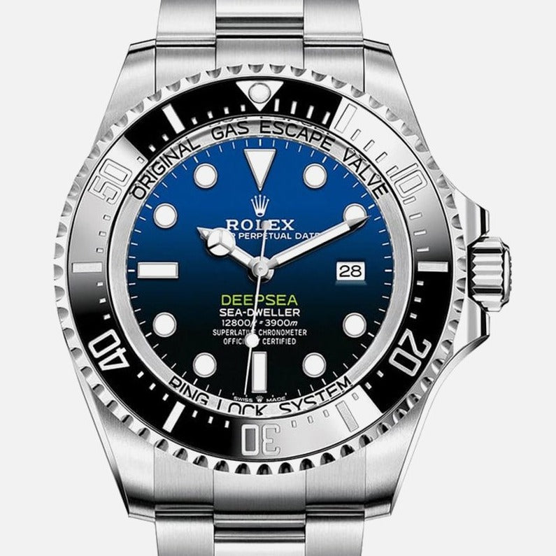 Rolex Sea-Dweller Deep Blue James Cameron 44mm Steel bracelet 126660