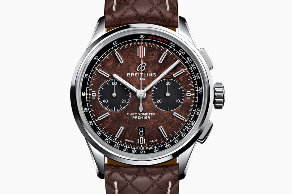 Breitling Bentley Brown AB01181A1Q1X1  Leather strap 42mm