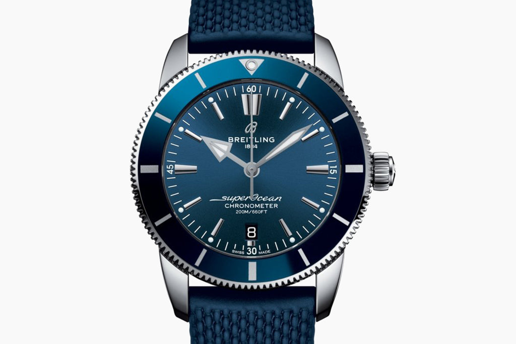 Breitling Superocean Héritage II 44 Blue Dial AB2030161C1S1