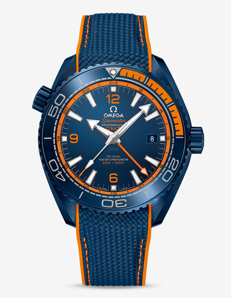 Omega 215.92.46.22.03.001 Planet Ocean 600M CO‑AXIAL MASTER CHRONOMETER GMT 45.5mm