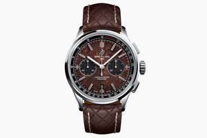 Breitling Bentley Brown 42mm Leather strap AB01181A1Q1X1
