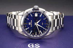 Grand Seiko Quartz GMT 50th Anniversary 40mm Steel bracelet SBGN009