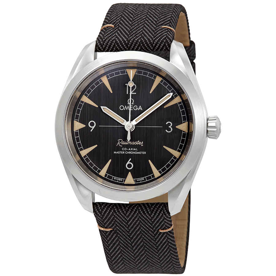 Omega Seamaster Railmaster CO-axial Chronometer 40mm Ref#220.12.40.20.01.001