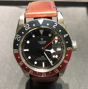 Tudor Black Bay Pepsi GMT 79830RB Leather Band 41mm