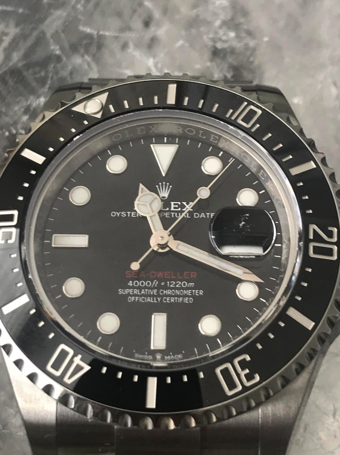 Rolex Sea-Dweller 50th Anniversary 43mm Steel bracelet 126600
