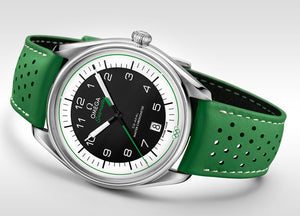 Omega Olympic Official Timekeeper 522.32.40.20.01.005 Limited Edition Green Dial 39.5M
