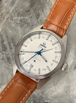 Omega Globemaster Co-axial Master Chronometer 41mm Leather strap 130.33.41.22.02.001
