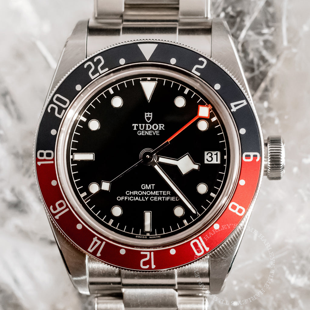 Tudor Black Bay Pepsi GMT 41mm Steel Bracelet 79830RB