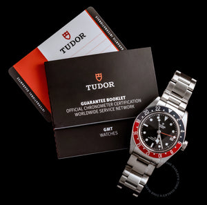 Tudor Black Bay Pepsi GMT M79830RB-0001 HERITAGE Steel Bracelet 41mm