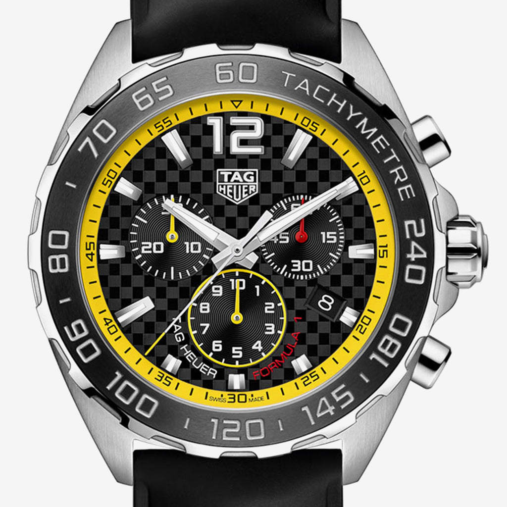 TAG Heuer Formula 1 Quartz Chronograph 43mm Ref#CAZ101AC.FT8024