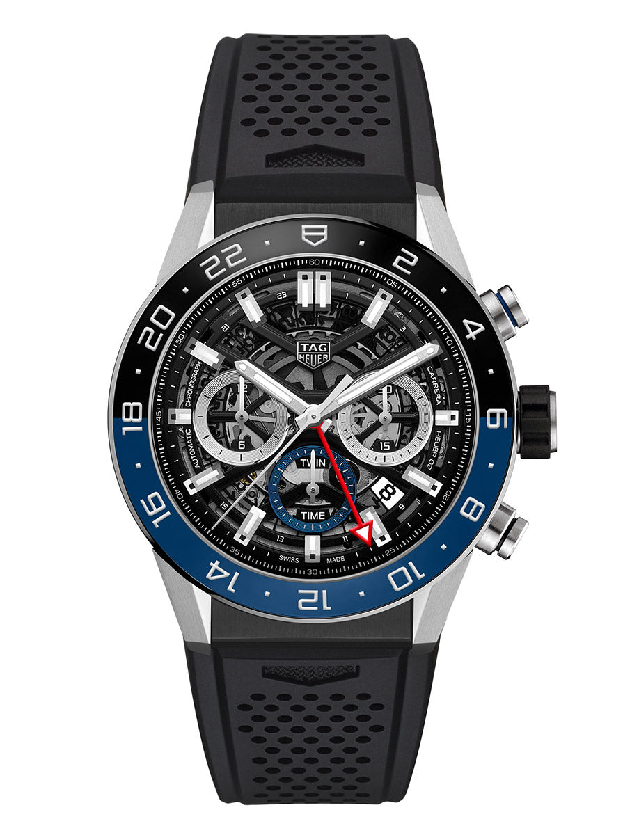 TAG Heuer Carrera Calibre 45mm Heuer 02 Ref#CBG2A1Z.FT6157