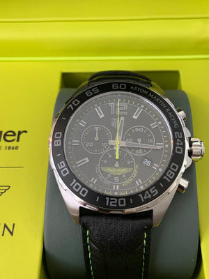 TAG Heuer Aston Martin Formula 1 Limited Edition 43mm Rubber strap CAZ101P.FC8245