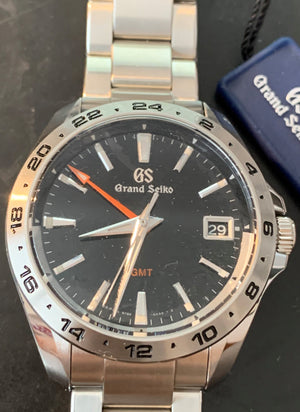 Grand Seiko Quartz SBGN003 GMT 25th Anniversary 40mm Steel bracelet