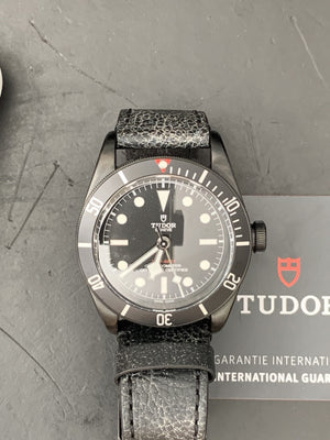 Tudor Black Bay Dark Heritage M79230DK Leather strap 41M