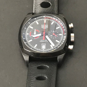 TAG Heuer  Monza Limited Edition calibre 17 Chronograph 42mm Leather strap CR2080.FC6375