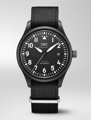 IWC Pilot Top Gun Automatic Black dial 41mm Ref# IW326901