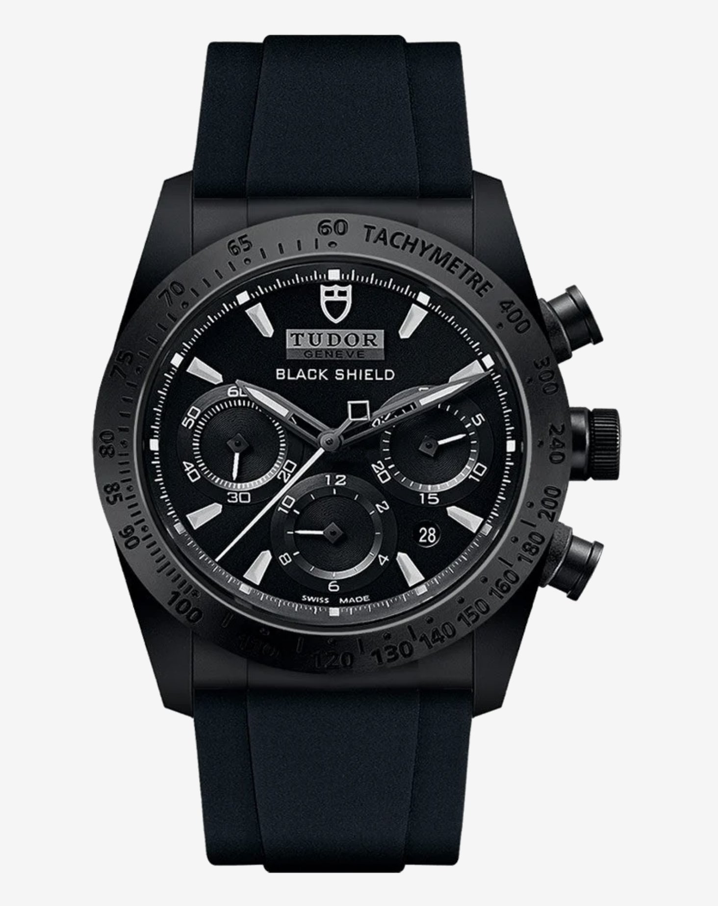 Tudor Fastrider M4200CN-0018 Black Shield Chronograph Ceramic Rubber 42mm