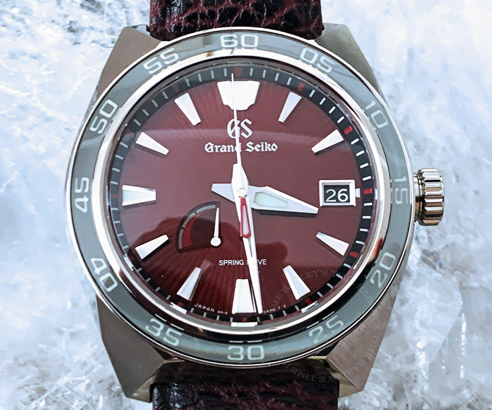 Grand Seiko Limited Edition Godzilla 65 Anniversary 44.5mm Leather strap SBGA405