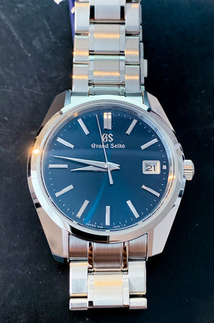Grand Seiko Heritage Quartz Steel bracelet 40mm Ref#SBGV239