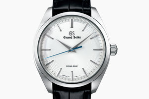 Grand Seiko Limited Edition Elegance White dial Spring Drive 38.5mm Crocodile strap SBGY003