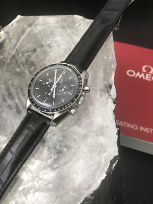 Omega Speedmaster Professional Moonwatch 42mm Crocodile Band 311.33.42.30.01.001