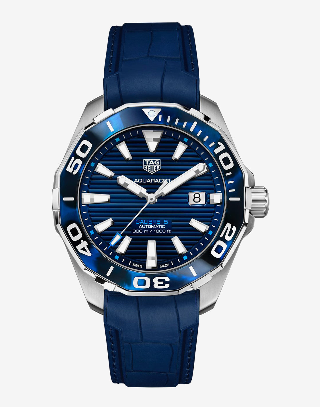 TAG Heuer Aqua Racer 300m BLUE 43mm Ref#WAY201P.FT6178