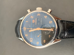 TAG Heuer Carrera 43mm Calibre 16 Ref#CV2A1AB.FC6379
