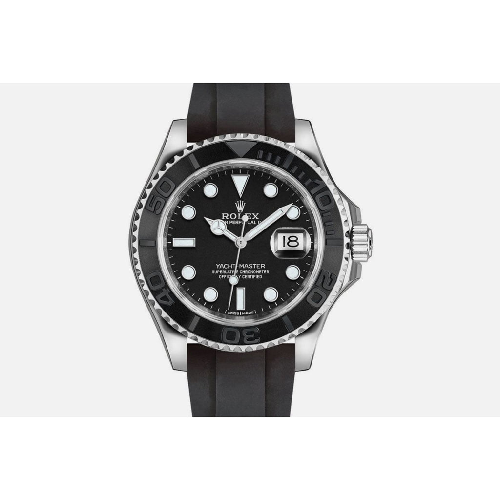 Rolex Yacht-Master 42mm Oyster White Gold Rubber strap 226659