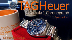 TAG Heuer Formula 1 Quartz Ref#CAZ101AB.BA0842 43mm Red Bull