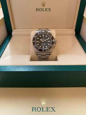 Rolex Submariner  New 2020 Mode No l Date 41mm Steel bracelet 124060