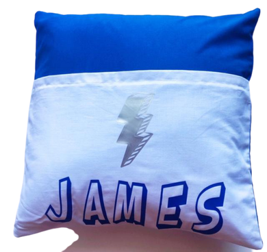 Personalized Reading Pillow - sweet mitten dreams