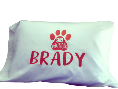 Personalize My Pillow Case - sweet mitten dreams