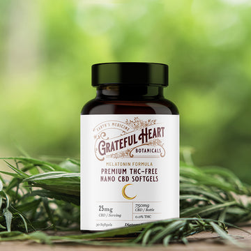CBD Softgels with Melatonin for Sleep