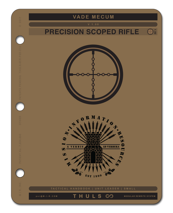 PRECISION SCOPED RIFLE