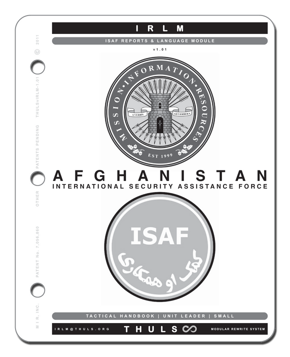 ISAF Reports & Language Module