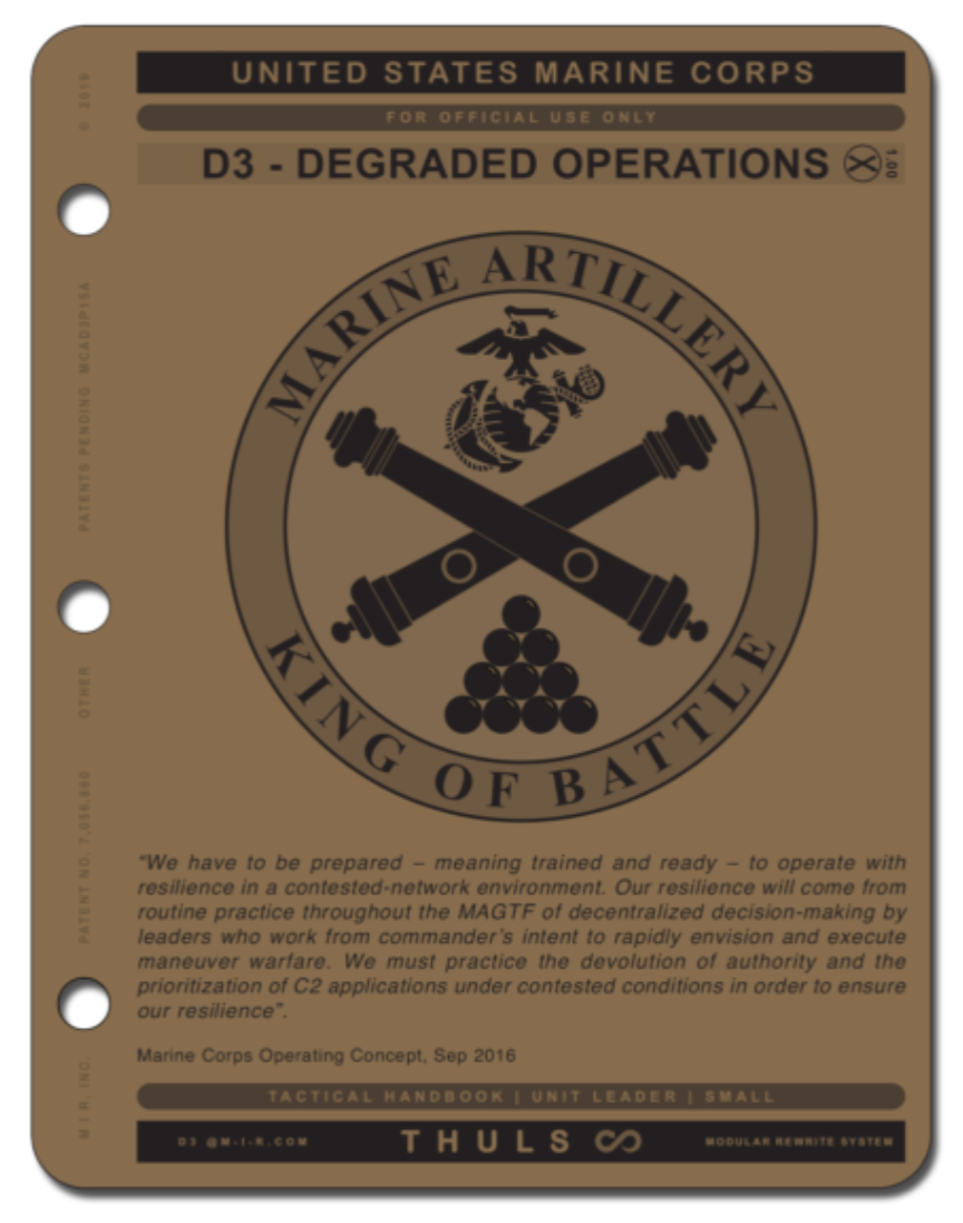 ARTILLERY-D3 DEGRADED OPERATIONS