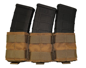 BDS Tactical Simple Stacker 3 Magazine Pouch - Mission Essential Gear