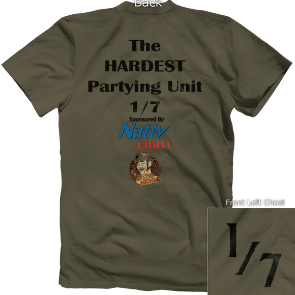 1/7 Hardest Partying Unit