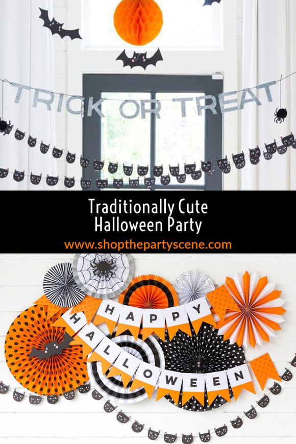Traditionally Cute Halloween Party