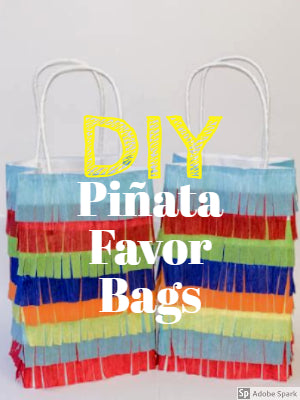 DIY  Piñata Favor Bags