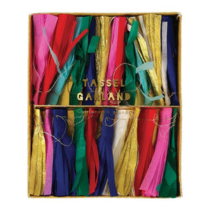 Meri Meri Multicolour Tassel Mini Garland