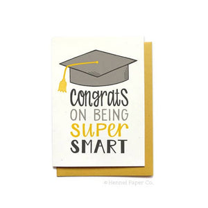 Super Smart Graduation Card