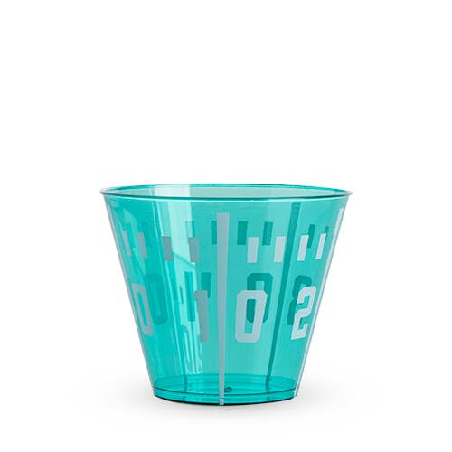 Football Yard Line Plastic Cup