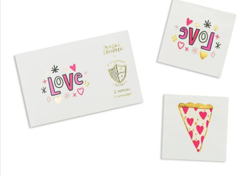 Love Notes Temporary Tattoos