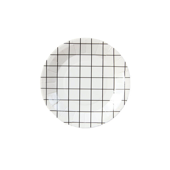 Grid Mini Canape Plates