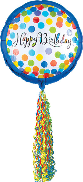32x70 Inch Birthday Airwalker Balloon
