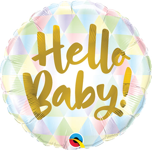 Hello Baby Balloon