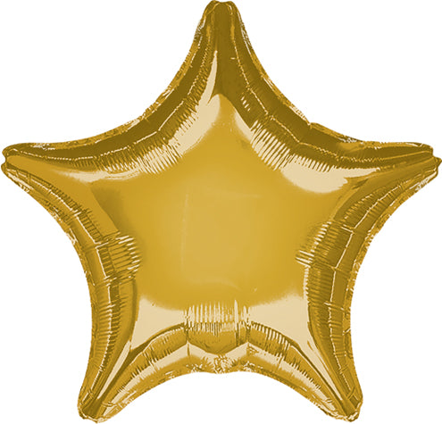 Jumbo Gold Star Balloon