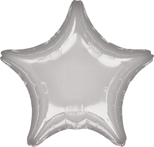 Jumbo Silver Star Balloon