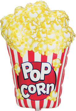 Popcorn in Box Balloon